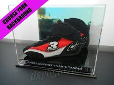 ✺Signed✺ JAMES COURTNEY & GARTH TANDER Shoes COA V8 Supercars Holden Commodore