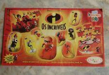 Beipackzettel PUZZLE OS INCRIVEIS, Ferrero Brasilien