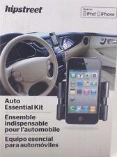 Hip Street HS-IPDAUTOKIT iPhone and iPod Auto Essentials Kit