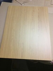 B&Q Replacement Kitchen End Base Panel Oak Style Shaker 570 X 720 (2nds)