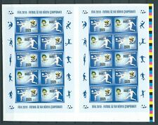 Azerbaijan,2010,Soccer,World cup,IMPERF . couple,Mint,,Sc,Mi NOT listed