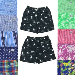 Polo Ralph Lauren Mens Big and Tall Lined Swim Trunks Swimsuit Shorts Prints
