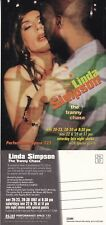 LINDA SIMPSON THE TRANNY CHASE PERFORMANCE SPACE 122 ADVERTISING UNUSED POSTCARD