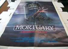 MORTUARY - FOLDED POSTER ONE SHEET - 27 X 41 - 1983