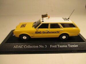Minichamps 400081391 Ford Taunus Turnier 1970 ADAC 1:43 MIB