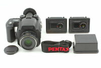 [Top MINT]  Pentax 645NII SMC FA 645 75mm F2.8 120 220 film Back From Japan #854