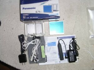 Panasonic MD Walkman Portable Minidisc Player SJ-MJ500 Blue G5911