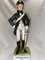 VINTAGE LEFTON JAPAN PORCELAIN SOLDIER FIGURINE 1799 CONTINENTAL ARTILLERY