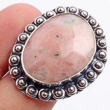 Jasper Gemstone Ethnic Style Jewelry Handmade Ring Size 8 R-7185