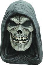 Halloween SKELETON GRIM REAPER OF EVIL DARKNESS ADULT LATEX DELUXE MASK NEW