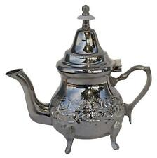 Authentic Moroccan Vintage Handmade Tea Pot Silver Small*New*