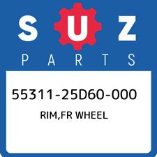 55311-25D60-000 Suzuki Rim,fr wheel 5531125D60000, New Genuine OEM Part