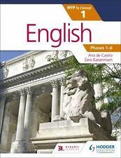 English, Phases 1-6 by Zara Kaiserimam and Ana De Castro (2016, Paperback)