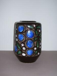 VEB Strehla Keramik Vase Made in GDR Vintage DDR Ostalgie 60er Jahre