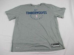 Minnesota Timberwolves Nike Short Sleeve Shirt Men's New Multiple Sizes