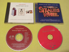 Stealers Wheel Stuck In The Middle Hits & Squeeze Greatest Hits 2 CD Albums Rock