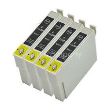 TINTE PATRONEN 4x für T0711 SX20 SX21 SX100 SX105 SX110 SX115 SX200 SX205 SX210