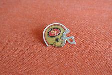 17057 PIN'S PINS FOOTBALL NFL SUPER BOWL CASQUE HELMET SAN FRANCISCO 49ERS