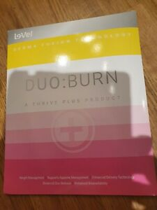Le-vel Thrive Duo Burn patches 10 Days Supply Brand New UK Stock.   weightloss
