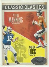 Peyton Manning   Andrew Luck    2016 Classics Classic Clashes   Broncos  Colts