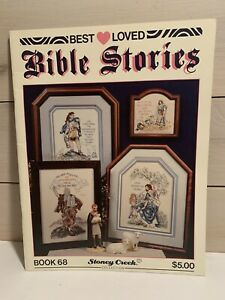 Stoney Creek Best Loved Bible Stories Book 68 Cross Stitch Patterns Book