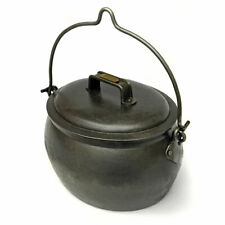 More details for cast iron gypsy pot belly cooking pot 1 gallon