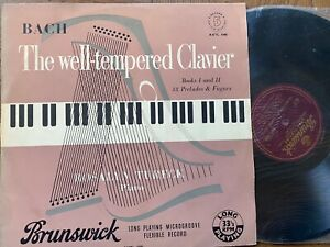 AXTL 1040 Bach The Well-Tempered Clavier Record 5 / Tureck P/G