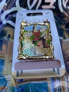 2021 Disney Parks Artfully Evil Gaston Beauty And The Beast Pin NEW