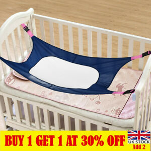 Portable Newborn Baby Hammock Infant Sleep Bed Elastic Detachable Crib Cot LT