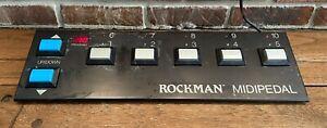 Vintage Rockman Midi Pedal, All Metal, No Plastic Ends, Great Condition