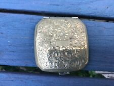 BEAUTIFUL VINTAGE STERLING POWDER COMPACT