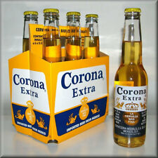 Corona Extra 6 pack of Beer, Flat Flexible Refrigerator Magnet, READ LISTING!!