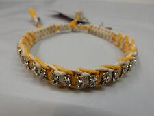 Rb13 Blair Yellow White Rose Gonzales Woven Bracelet