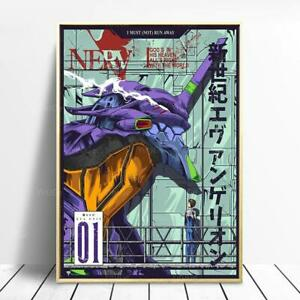 Neon Genesis Evangelion Anime Poster Cool Poster Best Home Decor Gift Best Gift