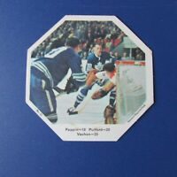 ROGIE VACHON 1967-68 York Octagons  # 32 Pappin  Pulford  Canadiens Maple Leafs