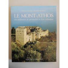 Le Mont-Athos un millénaire de spiritualité / Capuani/ Paparozzi / Réf22689