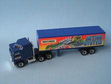 Matchbox Convoy Kenworth Caja Camión sistema de acción Azul Cuerpo En Caja De Juguete Modelo