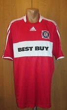 CHICAGO FIRE 2008/2009 HOME FOOTBALL SHIRT JERSEY CAMISETA USA SOCCER MLS ADIDAS