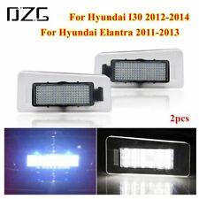LED Number License Plate Lights Fit For Hyundai Elantra 2011-2013 I30 2012-2014