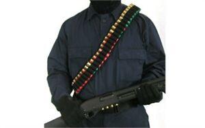 Blackhawk Shotgun Shoulder Bandoleer Carry 55 Shells 5 Oz Black 43SB55BK