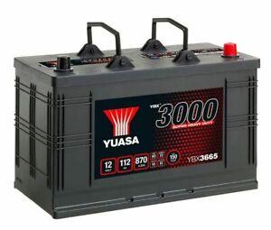 YBX3665 / 665HD 665SHD 12v 115ah 800a Yuasa Cargo Super Battery