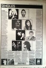 JOY DIVISION BLONDIE MICHAEL JACKSON singles reviews 1979 ARTICLE / clipping