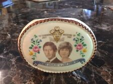 LADY DIANA & PRINCE CHARLES SMALL VASE TO COMMEMORATE WEDDING OF JULY 1981