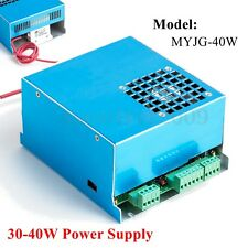 40W CO2 Laser Power Supply 110V / 220V Engraving Engraver Cutter Machine MYJG-40