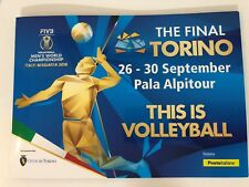 2018 Folder This is Volleyball Pallavolo Italy Bulgaria 2018 Torino LE 3500