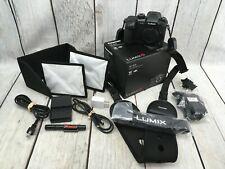 Panasonic LUMIX GH5 20.3 MP Digital SLR Camera -Black-Body w/ Box~Batteries~Case