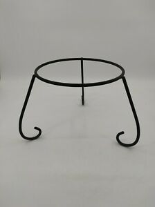 Iron Chiminea Stand Fire Bowl Stand Patio Heater Stand