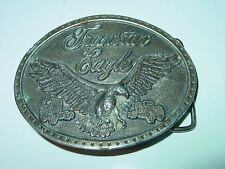 Vintage International Harvester TRANSTAR EAGLE Belt Buckle truck trucking