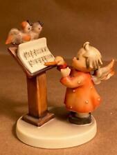 Goebel Bird Duet Tm3 Figurine Angel Singing Birds Germany Great Condition No Box