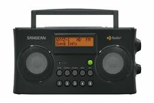 Sangean HDR-16 HD Radio/FM-Stereo/AM Portable Radio Black